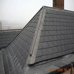 new slate and tile roof